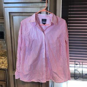 Chaps Button Down Shirt Size 1X